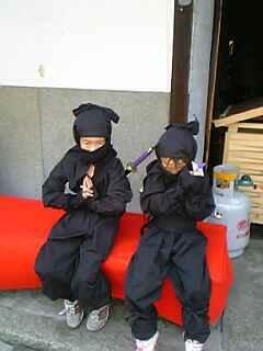 忍者修業に行ってきました
