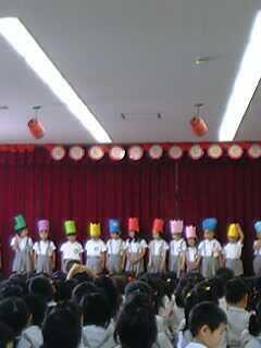 幼稚園でのお誕生会