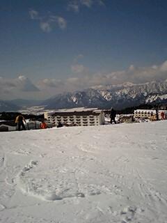 スキージャム勝山に行ってきました