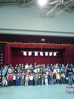 3年生の音楽発表会