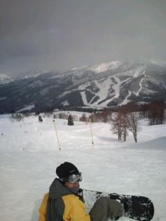 今年最後のスノーボード