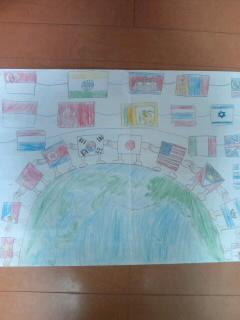 世界平和ポスター