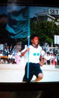 長男の中学校運動会